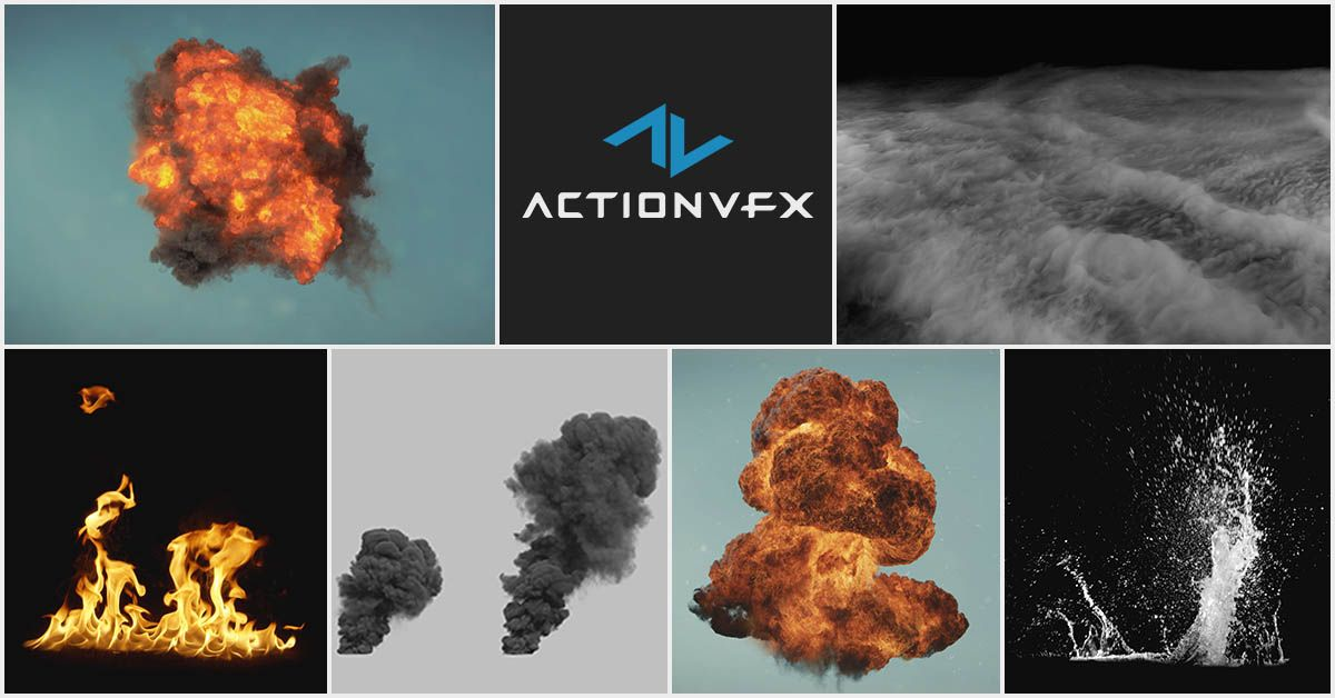 Premium Stock Footage for Visual Effects | ActionVFX